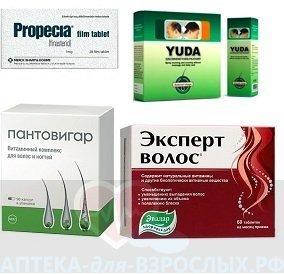 Фото препаратов для восстановления волос