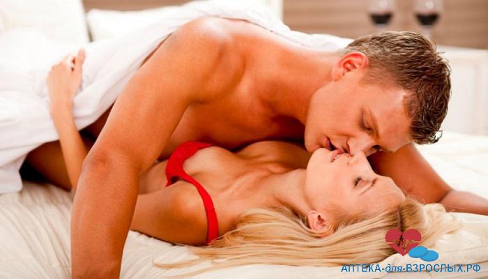 Нежный секс прелюдия
