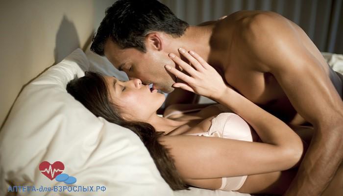 Пара занимается сексом благодаря Прелокс