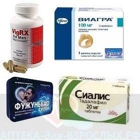 Список эффективных препаратов для повышения потенции у мужчин