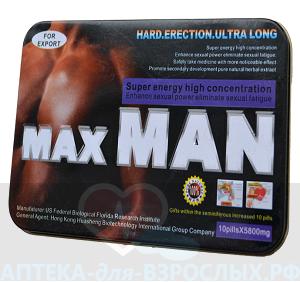 MaxMan инструкция по применению